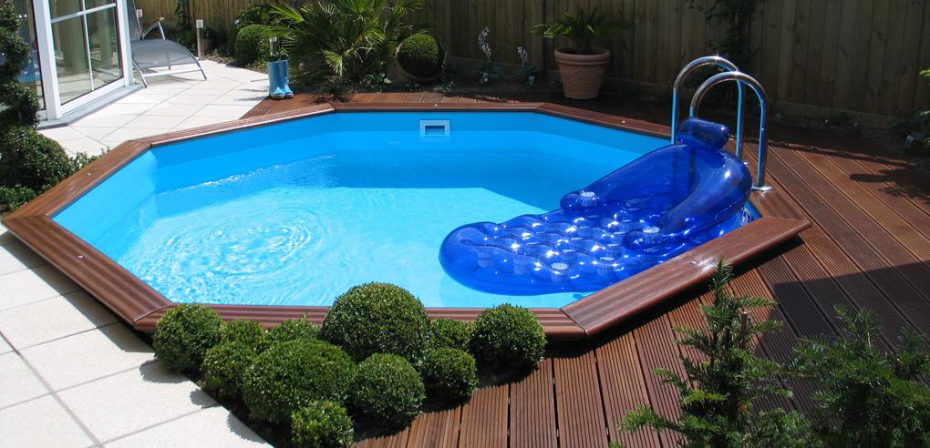 Gardenpool timmerpool som r enkel att bygga pool f r alla for Intex gartenpool
